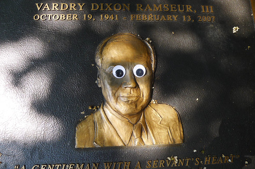 Googly-Eye Bombing Downtown Greenville-119