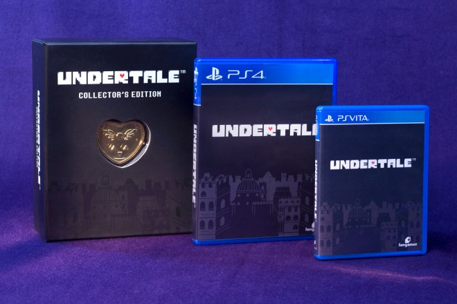 Undertale on PS4 & PS Vita