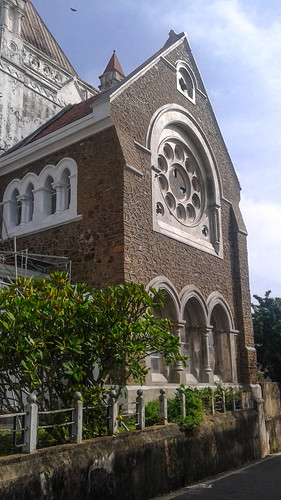 Church in Galle Fort Sri Lanak