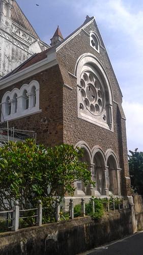 Church in Galle Fort Sri Lanak