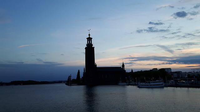 Zonsondergang in Stockholm (2)