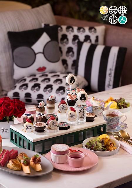 alice + olivia x Cha Bei afternoon tea set