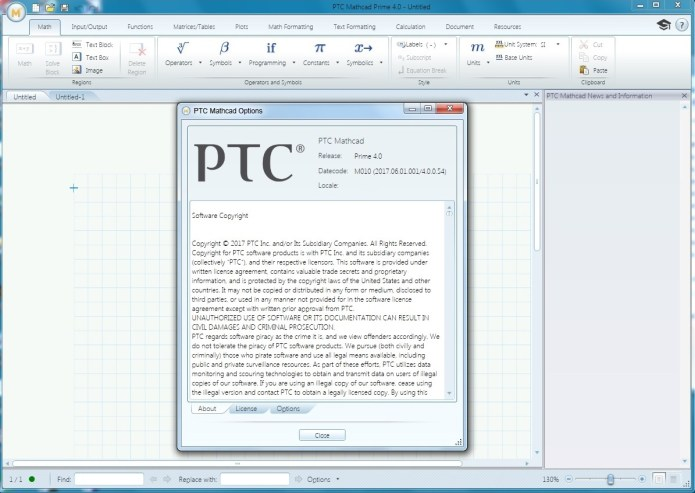 Working with PTC Mathcad Prime 4.0 M010 full license