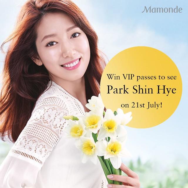 Park Shin Hye Mamonde Passes