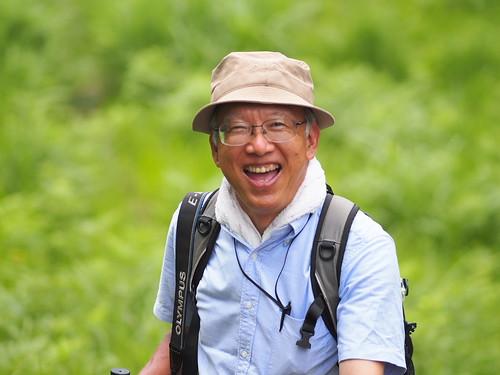 Our natural history guide: Watanabe-sensei