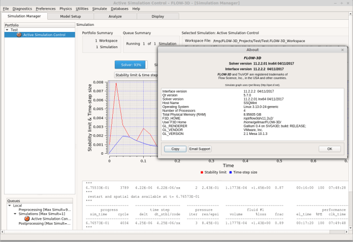 working with Flow Science FLOW-3D 11.2 full