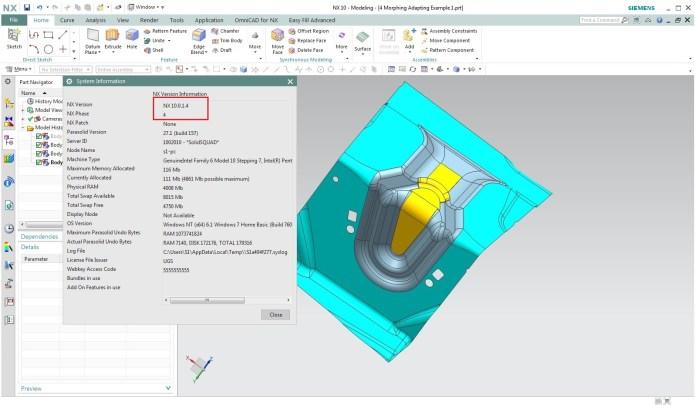 Thiết kế chi tiết với Phần mềm NX 10.0.1