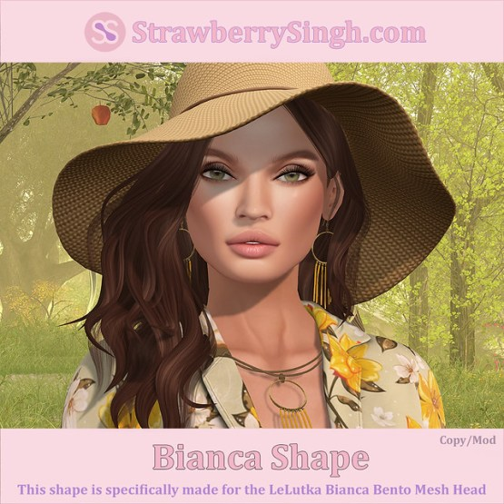 StrawberrySingh.com Bianca Shape