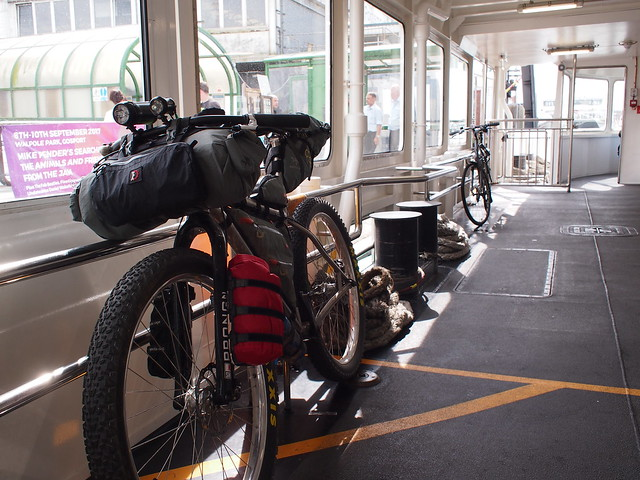 NCN2 Trip - Gosport Ferry