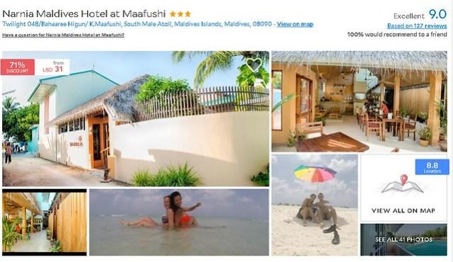 Narnia Maldives Hotel - Maldives Cheap Accommodation
