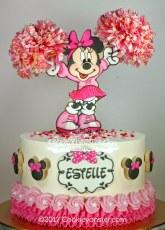 Cheerleader Minnie