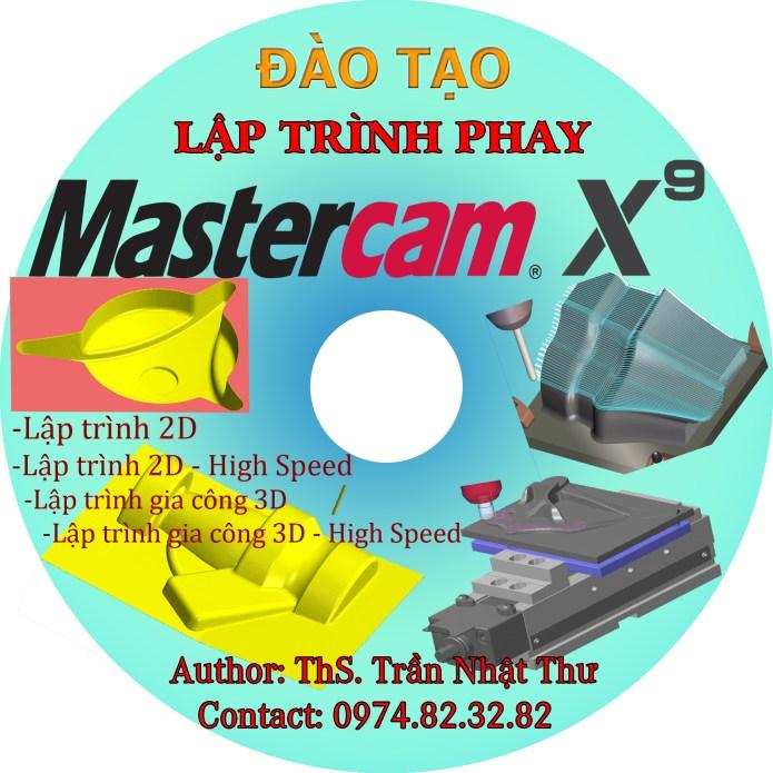 DVD lập trình phay 2D-3D từ cơ bản tới nâng cao MASTERCAM x9