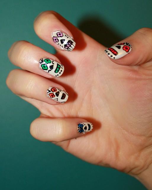 Skull Candy Nails