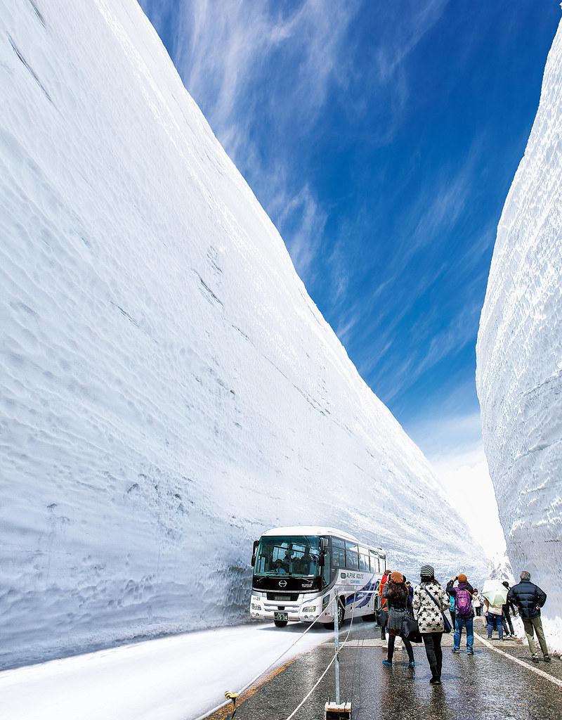 Snow Wall 雪壁