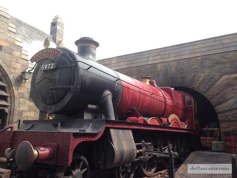 2 Hari Keliling Osaka - Hogwarts Express