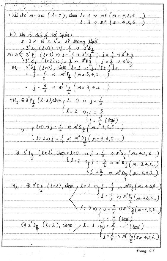 Bài tập và lời giải vật lý đại cương 2