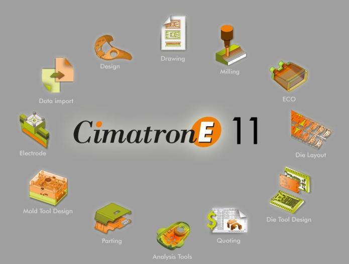 Phần mềm cimatron E11 full crack