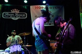 Cherry Glazerr @ Hopscotch Music Festival, Raleigh NC 2017