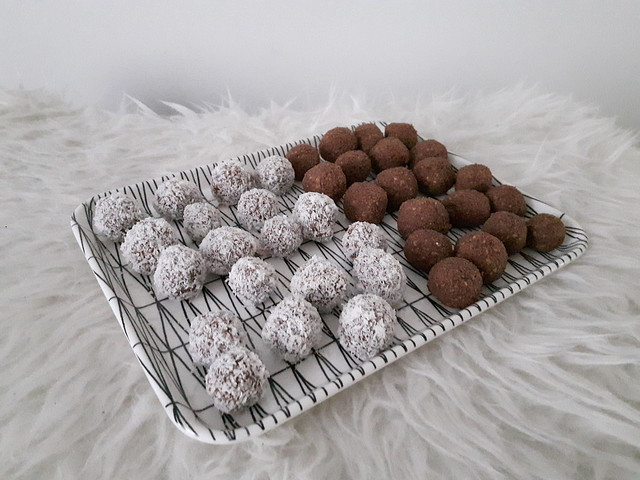 Chokladbollar - Zweedse chocoladeballetjes