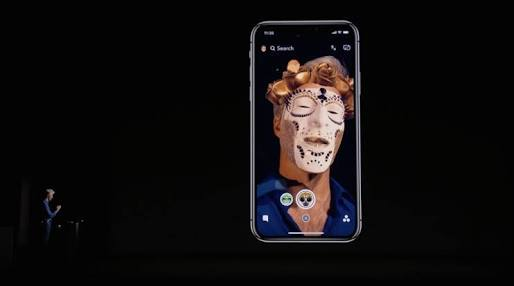 iPhone X เน้นเรื่องการทำ AR