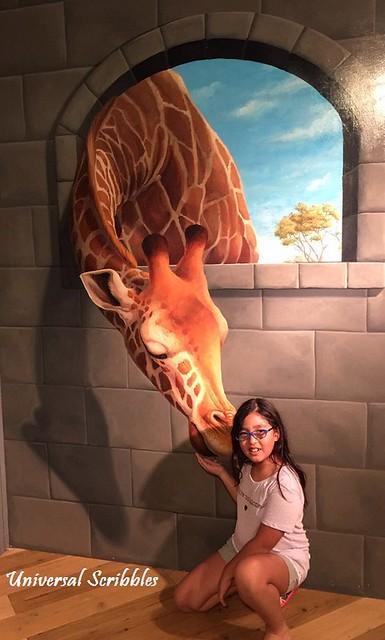Trick Art Tokyo Sweet Giraffe