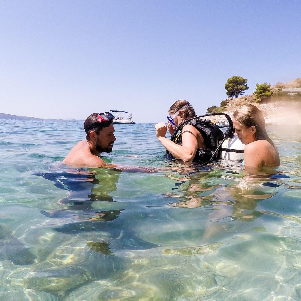 Scuba in Croatia