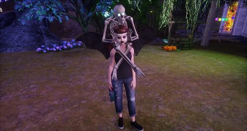Sansar Jenn Does Halloween