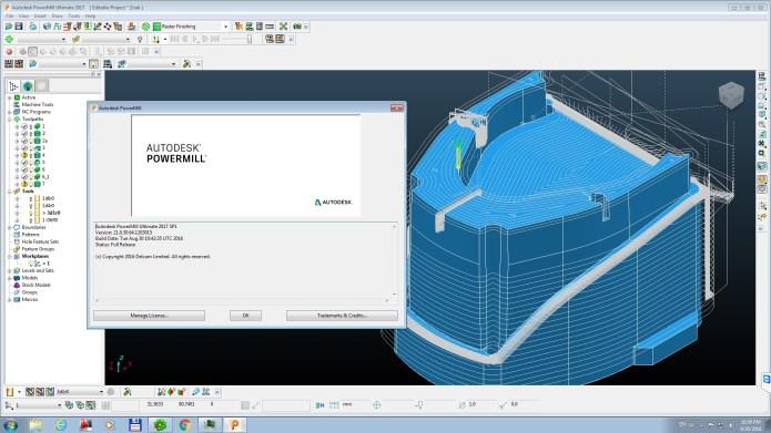 Lập trình gia công CNC 3d với powermill 2017 full license