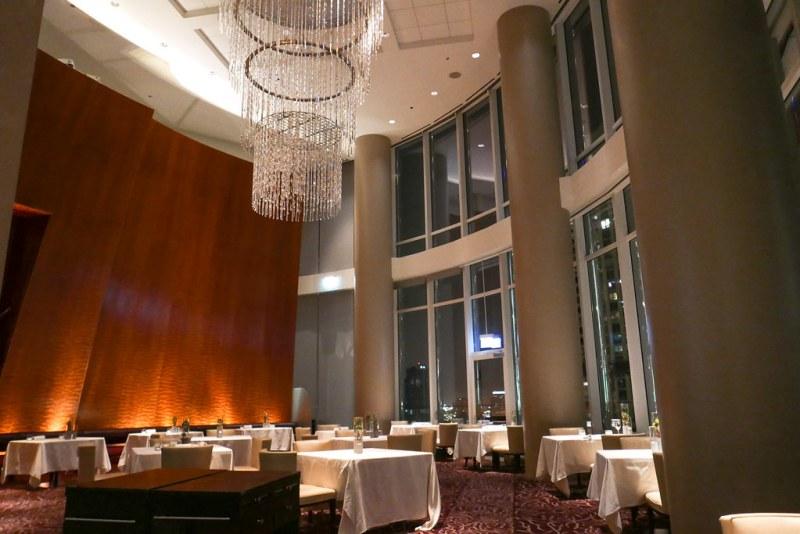 Sixteen dining room