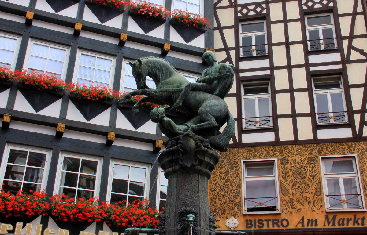 The old town of Cochem