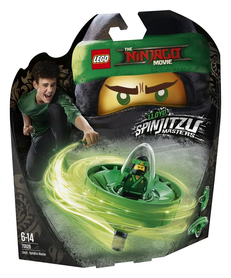 70628 - Spinjitzu Masters Lloyd - box