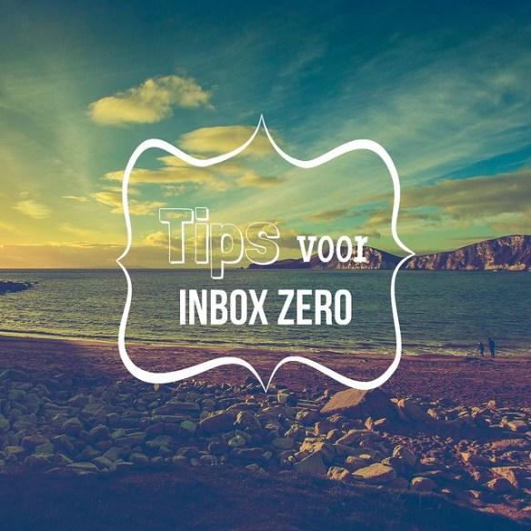 Tips voor Inbox Zero