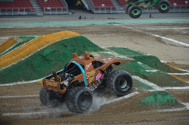 Monster Trucks Scooby Doo