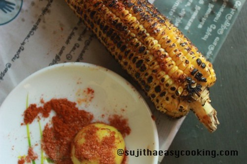 Sweetcorn with Lemon and chilli4