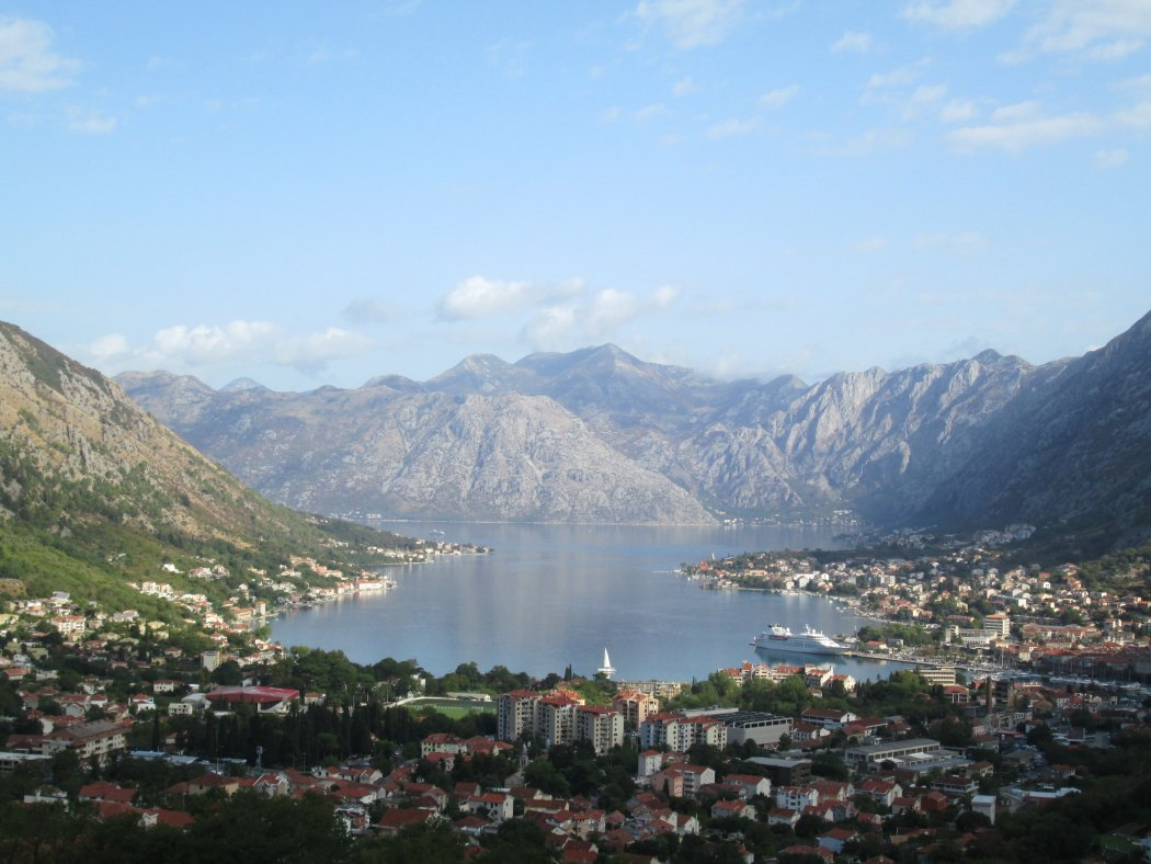 View of Kotor bay, Montenegro