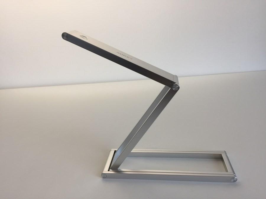 20170904 Lampe de bureau Aukey LT-ST7 portable, rechargeable et pliable 13