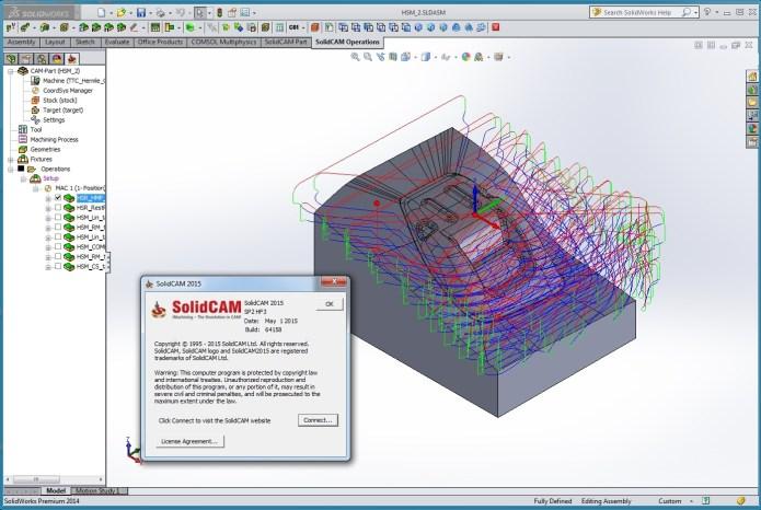 Lập trình gia công CNC với Solidcam 2015 SP2 HF3 full crack