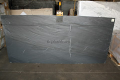 Italian Black Slate Leather 3cm marble slabs for countertops