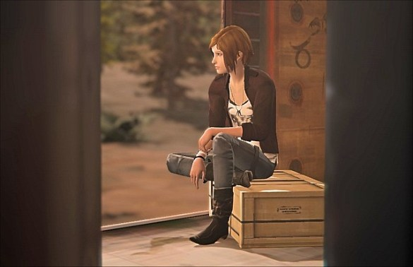 Life is Strange Before The Storm - Train Ride