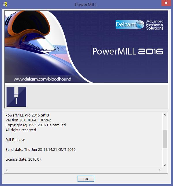 phần mềm delcam powermill 2016
