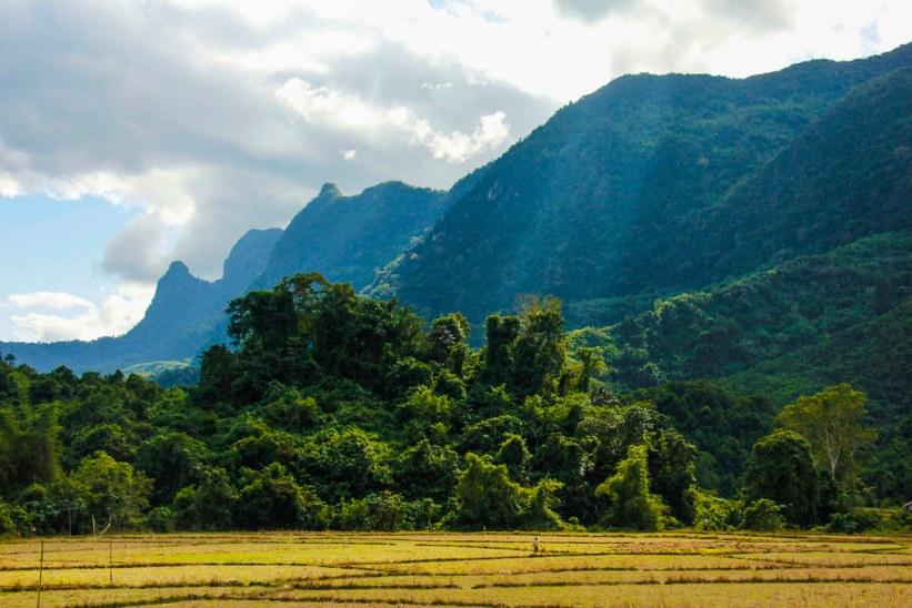 natur i Laos