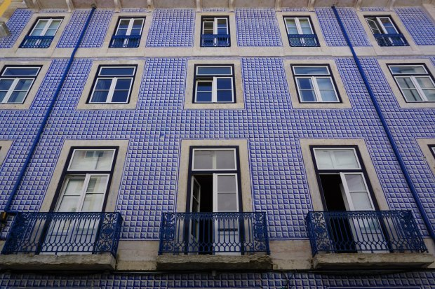 House in Alfama, oldest district of Lisbon