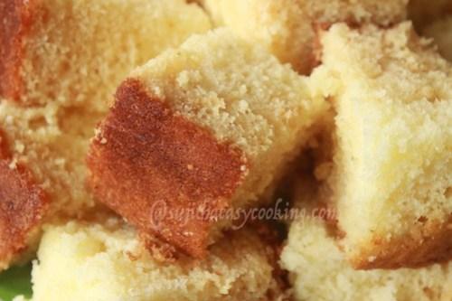 Hot milk cake 2