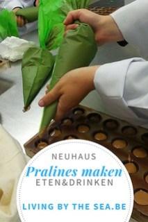 Pralines maken Neuhaus