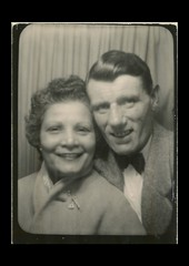 Grandparents c1948 after returning to England