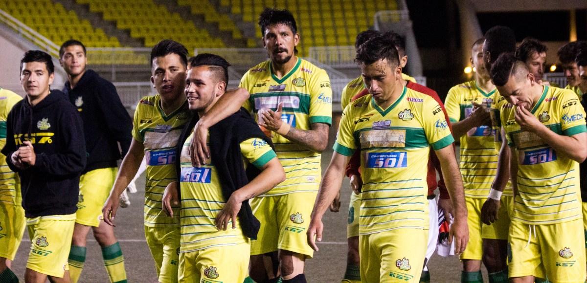 Deportes Pintana 2-1 Malleco Unido