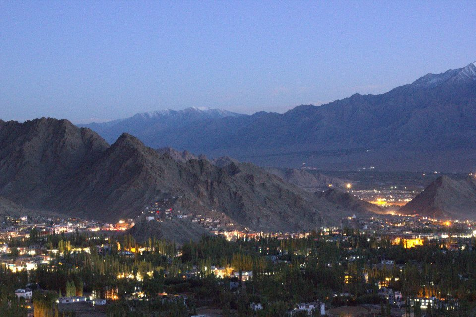 Glimpses of Ladakh in the evening