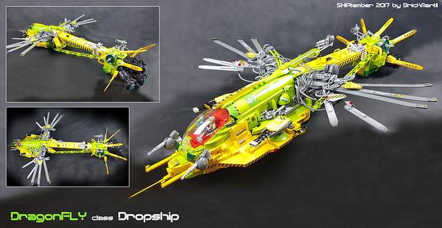 Dragonfly class Dropship - some angles