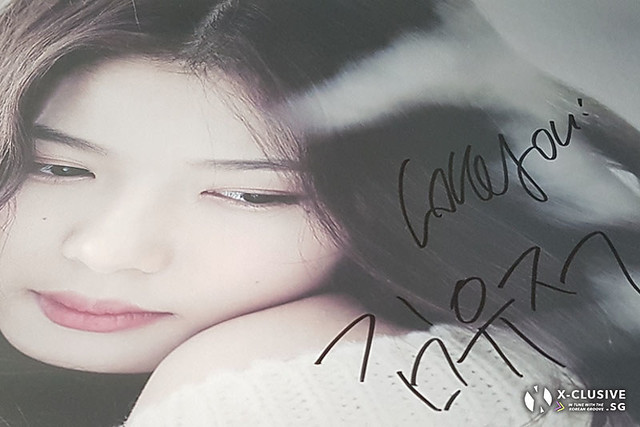 Kim You Jung Autographed Poster