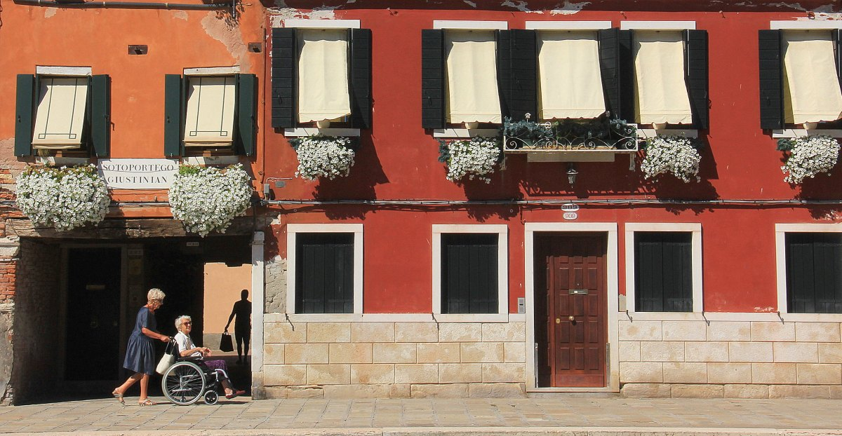 Canarregio in Venice Italy is the place where the locals hang out